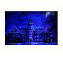 Winter Castle Art Print