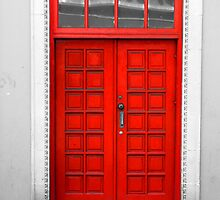 Red Door by Steve Small
