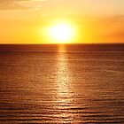 St Kilda - sunset by paxamour