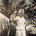Parrot Jungle in Miami, FL 1945 by Charldia