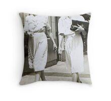 Downtown BroadStreet Gadsden, AL 1940 Throw Pillow