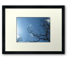 Casting Circles with Sigils of Fire and Air Framed Print