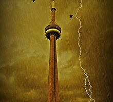 The Rain Falls - The Sky Shudders by Heather King