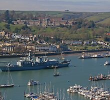 HMS St Albans, Dartmouth by RedHillDigital