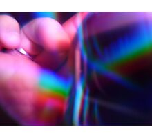 RAINBOW ON HAND Photographic Print