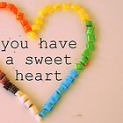 you have a sweet heart. by queenloube