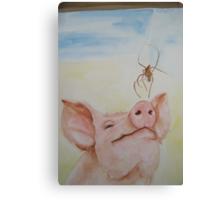 Wilbur and Charlotte Canvas Print