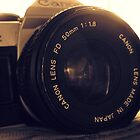 Vintage Canon Camera by Christina Hulette