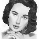 Elizabeth Taylor by Ronny Hart