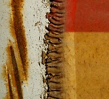 Abstract Zipper by Christopher Marshall
