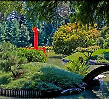 A Japanese Garden In Brooklyn by Chris Lord