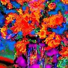 Orange Flowers by Richard  Tuvey