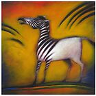 Zebra striped by Lloyd Foye