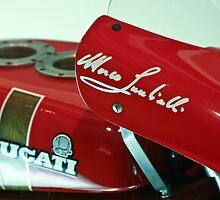 Lucky's Ducati by Steve Madsen