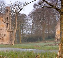 Minster Lovell Hall  The Cotswolds  UK by James  Key