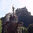 Edinburgh Castle by Gunnella