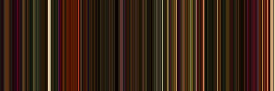 Moviebarcode: Enter the Void (2009) [Simplified Colors] by moviebarcode
