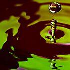 Green Drop by ksmdigiphoto