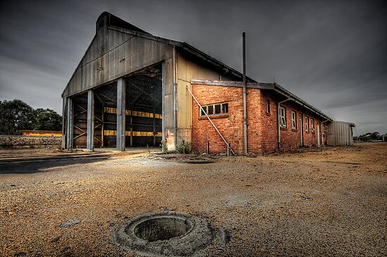 Old Railway Workshop - Collie WA by Chris Paddick