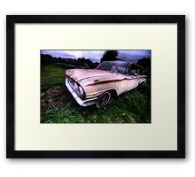 Old Staion Wagon - South Texas Framed Print