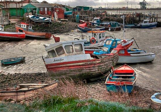 The Boat - Jennifer by Trevor Kersley