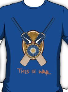 India Cricket - This is War T-Shirt