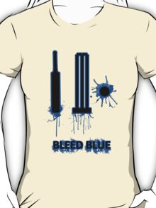 Bleed Blue for India T-Shirt