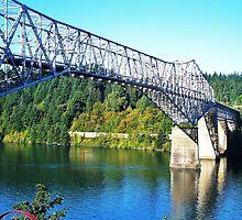 Bridge Of The Gods...Old Hwy 30, Cascade Locks, Ore. by trueblvr