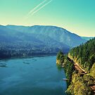 Cascade Locks, Oregon...Old Hwy 30...Columbia River by trueblvr