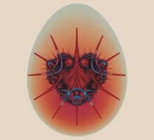 Lyssa Bug on Egg by Objowl