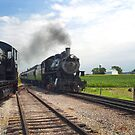 Old 475 Coming into the station by ©  Paul W. Faust