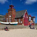 Cullercoats Beach by nigelphoto