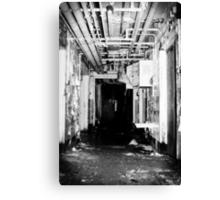 Room 3 is straight ahead Canvas Print