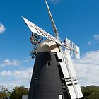 Thelnetham Windmill by DaleReynolds