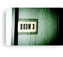 Room 3 Canvas Print