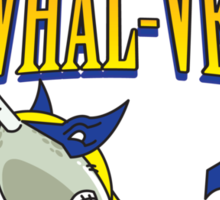 The Narwhal-verine! Sticker