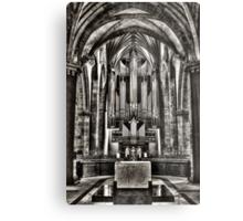 St Giles Organ Metal Print