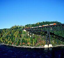 Quebec Northshore & Labrador at Moisie River by Shawn Duren