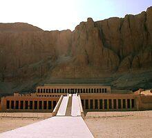 Temple Of Queen Hatshepsut by Robbie Labanowski