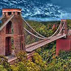 Clifton Suspension Bridge     by  Bonita Lalonde