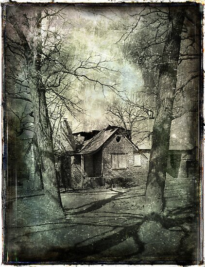 A Broken Down House by AlexKujawa