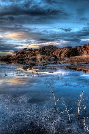 Crystal Blue by Bob Larson