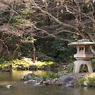 Japanese garden in winter by fab2can