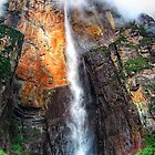 Angel Falls Free fall, Venezuela by Clint Burkinshaw