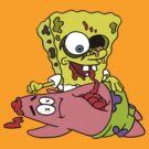 Spongebob Zombie by lollyjolie