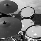 Retro Drums by AmandaJanePhoto
