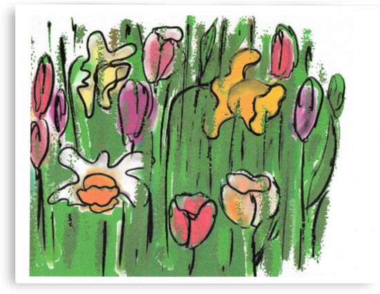 Spring  Garden by OlaG