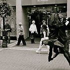 Tango On Grafton Street by Rebecca Lipscomb