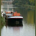 barge calmness by LisaBeth
