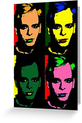 GARY NUMAN POP-ART by OTIS PORRITT
